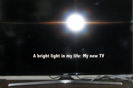 Ode to My New TV