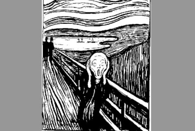 The scream edited