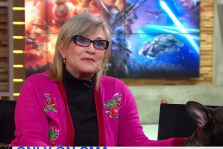 Screw You, 2016. With Carrie Fisher, It's Personal