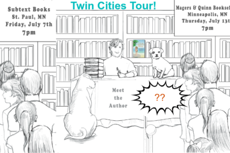 Twin Cities Book Tour, Nits & Ticks